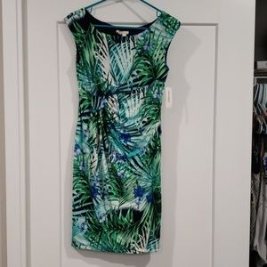 Tropical midi dress NWT